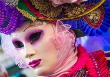 μάσκα Βενετία καρναβαλι&omi Το καρναβάλι της Βενετίας είναι ένα ετήσιο φεστιβάλ που διοργανώνεται στη Βενετία, Ιταλία Το φεστιβάλ Στοκ Φωτογραφίες