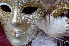 μάσκα Βενετός καρναβαλι&om Στοκ φωτογραφία με δικαίωμα ελεύθερης χρήσης