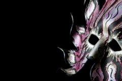 μάσκα Βενετός καρναβαλι&om στοκ εικόνες