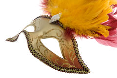 μάσκα Βενετός καρναβαλι&om Στοκ εικόνα με δικαίωμα ελεύθερης χρήσης