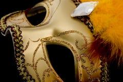 μάσκα Βενετός καρναβαλι&om Στοκ Εικόνα