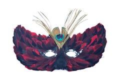 Μάσκα γατών φτερών Στοκ φωτογραφίες με δικαίωμα ελεύθερης χρήσης