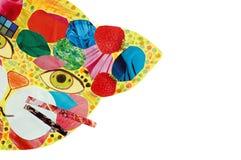 μάσκα γατών psychedelic Στοκ φωτογραφία με δικαίωμα ελεύθερης χρήσης