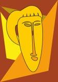 Μάσκα γυναίκας Στοκ εικόνα με δικαίωμα ελεύθερης χρήσης