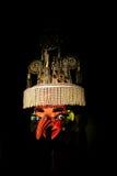 Μάσκα ειδώλων στο μουσείο Λα Παζ, Βολιβία Στοκ Εικόνες
