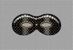 Μάσκα, διαμάντι ελεύθερη απεικόνιση δικαιώματος