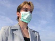 μάσκα ιατρική Στοκ φωτογραφία με δικαίωμα ελεύθερης χρήσης