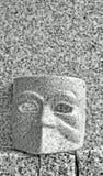 Μάσκα και τοίχος Στοκ εικόνες με δικαίωμα ελεύθερης χρήσης