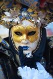Μάσκα και το ενετικό καρναβάλι, Βενετία Στοκ Εικόνες