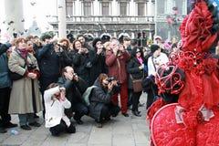 Μάσκα - καρναβάλι - Βενετία μερικά pics από την παχιά Τρίτη στη Βενετία Στοκ Εικόνα