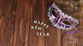 Μάσκα καρναβαλιού για το νέο έτος Στοκ Εικόνες