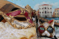 Μάσκα καρναβαλιού Στοκ Φωτογραφίες