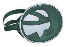 μάσκα κατάδυσης αναδρομ&io διανυσματική απεικόνιση