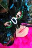 μάσκα κοριτσιών σφαιρών στοκ εικόνα με δικαίωμα ελεύθερης χρήσης