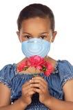 μάσκα κοριτσιών Στοκ εικόνες με δικαίωμα ελεύθερης χρήσης