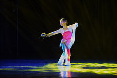 Μάσκα-κλασσικός λαϊκός χορός Στοκ Εικόνα
