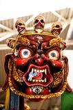 Μάσκα με τα κρανία στο φεστιβάλ της Ανατολής στη Ρώμη Ιταλία Στοκ φωτογραφία με δικαίωμα ελεύθερης χρήσης