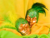 μάσκα μυστήριος Βενετός Στοκ εικόνα με δικαίωμα ελεύθερης χρήσης