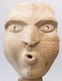 μάσκα ξύλινη Στοκ Εικόνες