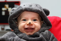 Μάσκα παιδιών για αποκριές Στοκ Φωτογραφίες