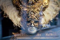 μάσκα παραδοσιακός Βενετός Ιταλία Βενετία Στοκ Φωτογραφία