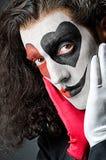 μάσκα πλακατζών προσώπου Στοκ Φωτογραφία