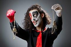 μάσκα πλακατζών προσώπου Στοκ εικόνα με δικαίωμα ελεύθερης χρήσης