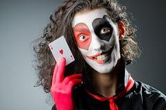 μάσκα πλακατζών προσώπου Στοκ Εικόνες