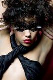 μάσκα πολύτιμων λίθων που &ph στοκ εικόνες