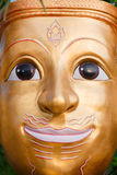 Μάσκα προσώπου του ταϊλανδικού Θεού Στοκ φωτογραφίες με δικαίωμα ελεύθερης χρήσης