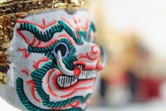 Μάσκα δράστη ταϊλανδικού παραδοσιακού Στοκ Εικόνες