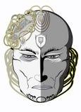 μάσκα σκεπτική Στοκ φωτογραφία με δικαίωμα ελεύθερης χρήσης