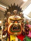 Μάσκα στο φεστιβάλ της Ανατολής στη Ρώμη Ιταλία Στοκ Φωτογραφία