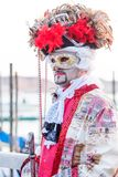 Μάσκα της Βενετίας στο καρναβάλι, Βενετία, Ιταλία στοκ φωτογραφία
