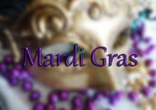 Μάσκα της Mardi Gras Στοκ φωτογραφία με δικαίωμα ελεύθερης χρήσης