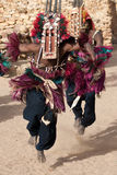 μάσκα του Μαλί χορού αντι&lamb στοκ εικόνα