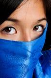 Μάσκα υφάσματος στοκ φωτογραφίες με δικαίωμα ελεύθερης χρήσης