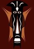 μάσκα φυλετική Στοκ εικόνες με δικαίωμα ελεύθερης χρήσης