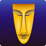 μάσκα φυλετική Στοκ φωτογραφία με δικαίωμα ελεύθερης χρήσης