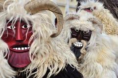 μάσκα δύο buso Στοκ Φωτογραφίες