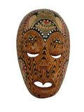μάσκα 2 Αϊτή Στοκ Φωτογραφίες