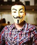 Μάσκα Fawkes τύπων Στοκ εικόνες με δικαίωμα ελεύθερης χρήσης
