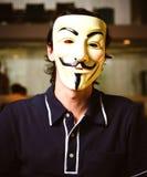 Μάσκα Fawkes τύπων Στοκ φωτογραφίες με δικαίωμα ελεύθερης χρήσης