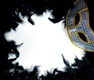 μάσκα mardi gras φτερών σπορείων Στοκ φωτογραφία με δικαίωμα ελεύθερης χρήσης
