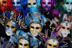 μάσκες Βενετία Στοκ εικόνες με δικαίωμα ελεύθερης χρήσης