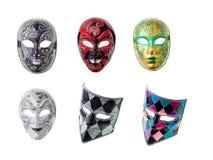 μάσκες Βενετός Στοκ Φωτογραφίες