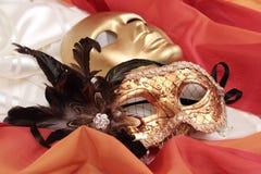 μάσκες Βενετός Στοκ Εικόνες