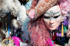 Μάσκες για την πώληση στη Βενετία καρναβάλι στοκ εικόνες