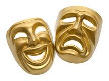 Μάσκες θεάτρων διανυσματική απεικόνιση