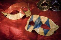 μάσκες διακοπών διασκέδασης καρναβαλιού Στοκ φωτογραφίες με δικαίωμα ελεύθερης χρήσης